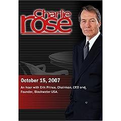 Charlie Rose (October 15, 2007)