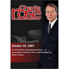 Charlie Rose (October 16, 2007)