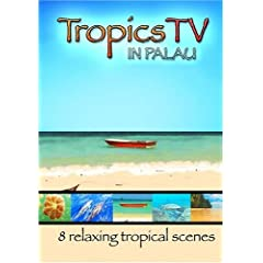 TropicsTV - PALAU: Relaxing Waves, Beaches & Sealife
