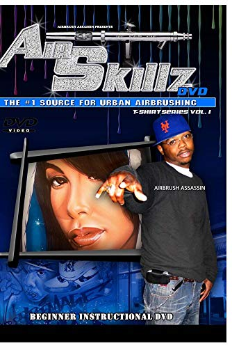 Air Skillz Hip Hop Airbrush DvD
