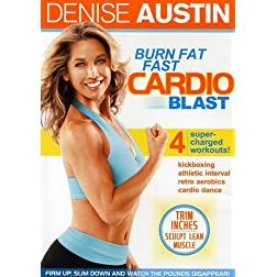 Denise Austin: Burn Fat Fast - Cardio Blast