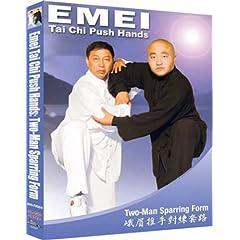 Tai Chi Push Emei Hands Two-Man