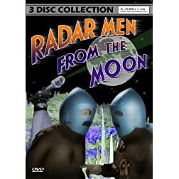 Radar Men From The Moon - Complete Collection [Remastered] (3-DVD Set) 1952