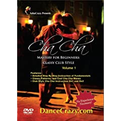 SalsaCrazy's Cha Cha Mastery For Beginners Classy Club Style