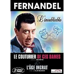 L'age ingrat / Le couturier de ces dames - Fernandel Boxset 2DVD