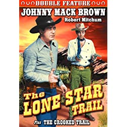 Brown, Johnny Mack Double Feature: Lone Star Trail (1943) / The Crooked Trail (1936)