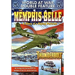 WWII - World at War Double Feature: The Memphis Belle: A Story of a Flying Fortress (1944) / Thunderbolt (1947)