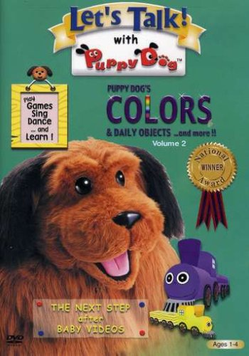 Let's Talk with Puppy Dog Vol. 2: Colors & Daily Objects