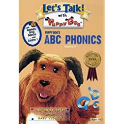 Let's Talk with Puppy Dog Vol. 6: ABC's & Phonics