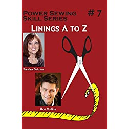 #7 Linings A to Z