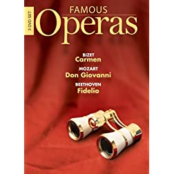 Famous Operas: Carmen/Don Giovanni/Fidelio