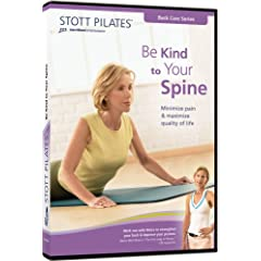 STOTT PILATES: Be Kind to Your Spine (Repackaged)