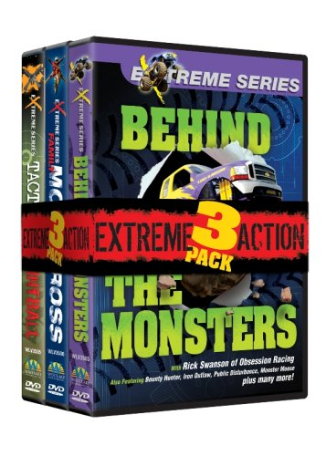 Extreme Action 3 Pack (Paintball/Motocross/Monster Trucks)