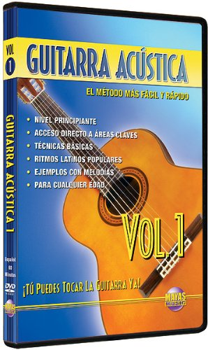 Guitarra Acústica, Vol 1: ¡Tú Puedes Tocar La Guitarra Ya! (Spanish Language Edition) (DVD)