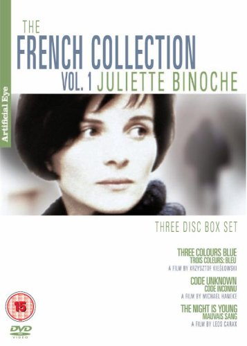 French Collection Vol. 1 - Juliette Binoche Collection (Three Colours Blue / Code Unknown / Mauvais Sang ) (PAL/Region 2)