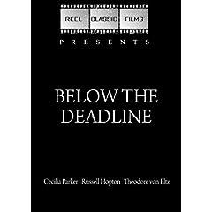 Below the Deadline (1936)
