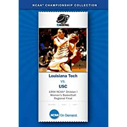 1994 NCAA Division I Women's Basketball Regional Final - Louisiana Tech vs. USC