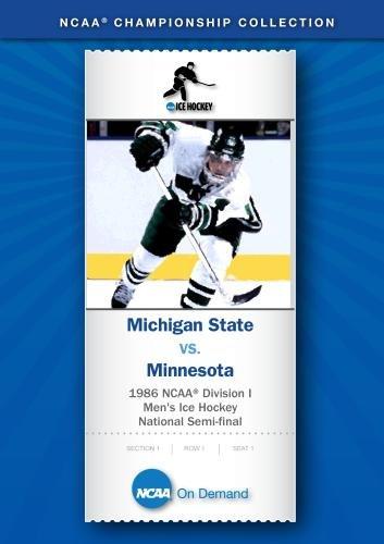 1986 NCAA Division I Men's Ice Hockey National Semi-final - Michigan State vs. Minnesota