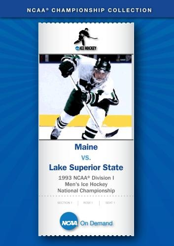 1993 NCAA Division I Men's Ice Hockey National Championship - Maine vs. Lake Superior State