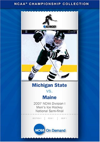 2007 NCAA Division I Men's Ice Hockey National Semi-final - Michigan State vs. Maine