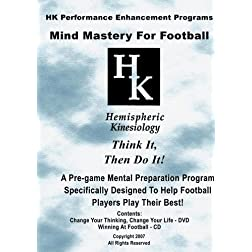 Mind Mastery For Football (DVD & CD)