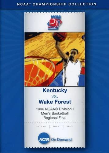 1996 NCAA Division I Men's Basketball Regional Final - Kentucky vs. Wake Forest