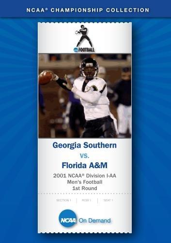 2001 NCAA Division I-AA Men's Football 1st Round - Georgia Southern vs. Florida A&M