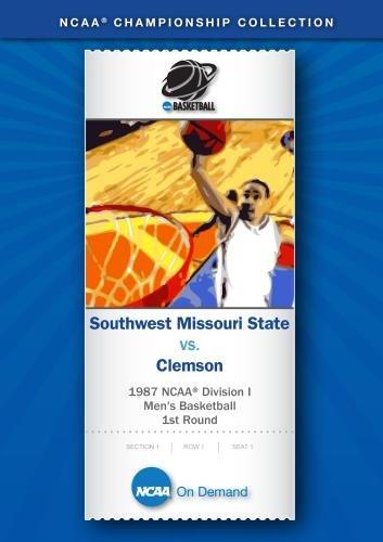 1987 NCAA Division I Men's Basketball 1st Round - Southwest Missouri State vs. Clemson