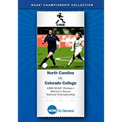 1989 NCAA Division I Women's Soccer National Championship - North Carolina vs. Colorado College