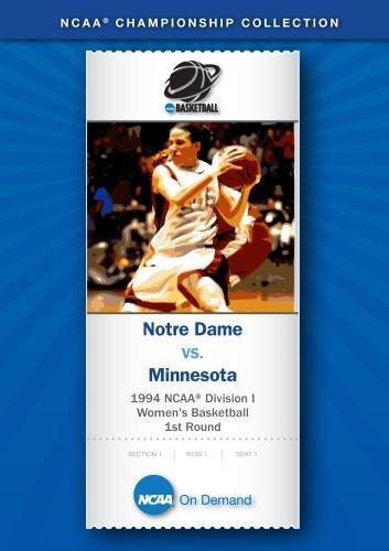 1994 NCAA Division I Women's Basketball 1st Round - Notre Dame vs. Minnesota