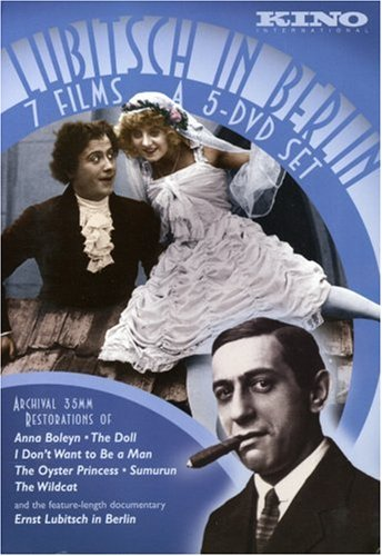 Lubitsch in Berlin (The Doll/Ernst Lubitsch in Berlin/The Oyster Princess/I Don't Want to be a Man/Sumurun/Anna Boleyn/The Wildcat) (5pc)