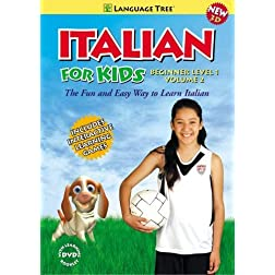 'Italian for Kids: Learn Italian Beginner Level 1 Vol. 2 (w/booklet)'