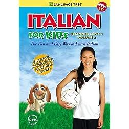 'Italian for Kids: Learn Italian Beginner Level 1 Vol. 2 (w/booklet)'