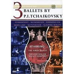 3 Ballets By P.I. Tchaikovsky
