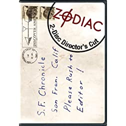 Zodiac - The Director's Cut (Two-Disc Special Collector's Edition)