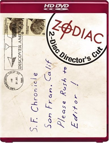 Zodiac (Two-Disc Director's Cut) [HD DVD]