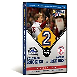 2007 World Series Game 2 - Boston Red Sox 2, Colorado Rockies 1