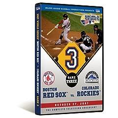 2007 World Series Game 3 - Boston Red Sox 10, Colorado Rockies 5