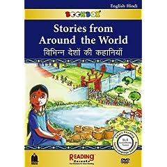 Stories from Around the World (BookBox) English-Hindi