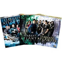 Stargate Atlantis - The Complete Seasons 1 - 3