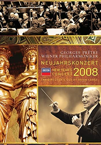 New Year's Concert 2008 / Pretre, Wien Phil.