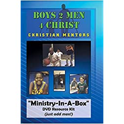 Boys 2 Men 4 Christ Fatherless Mentor Ministry Curriculum Resource DVD