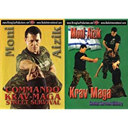 Krav Maga Moni Aizik 2 DVD Box Set