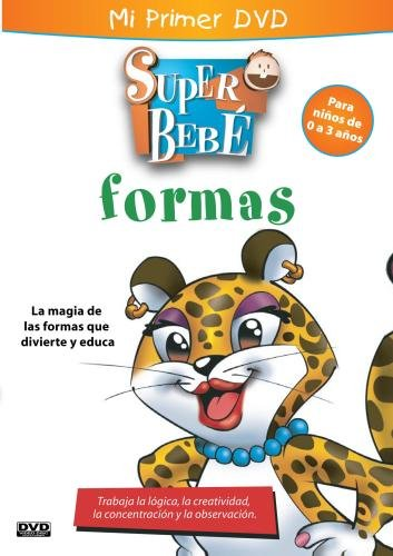 SUPER BABY SHAPES/ Super Bebe Formas - SPANISH/PORTUGUESE