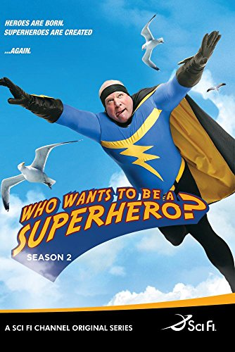 Who Wants To Be A Superhero? Season 2 (3 DVD Set)