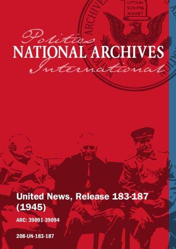 United News, Release 183-187 (1945) NAZI MURDERERS EXECUTED, MOSCOW TALKS BEGIN