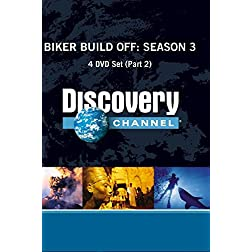 Biker Build Off Season 3 DVD Set (Part 2)