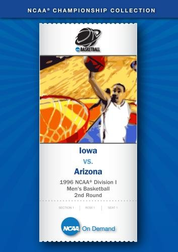 1996 NCAA Division I Men's Basketball 2nd Round - Iowa vs. Arizona