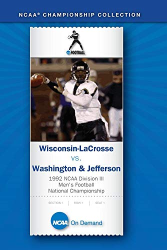 1992 NCAA Division III Men's Football Championship-Wisconsin LaCrosse vs. Washington&Jefferson Disc2