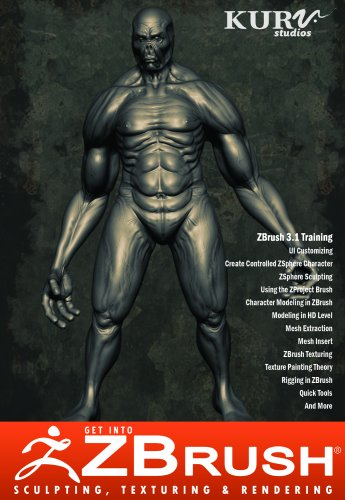 Get into ZBrush 3.1, Sculpting, Texturing & Rendering